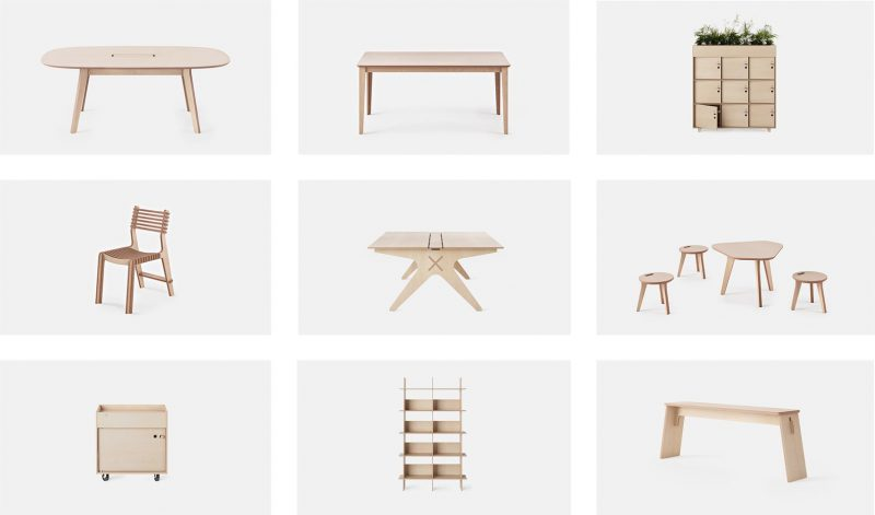 The Future Of Furniture Shared Globally Produced Locally Pop Up City