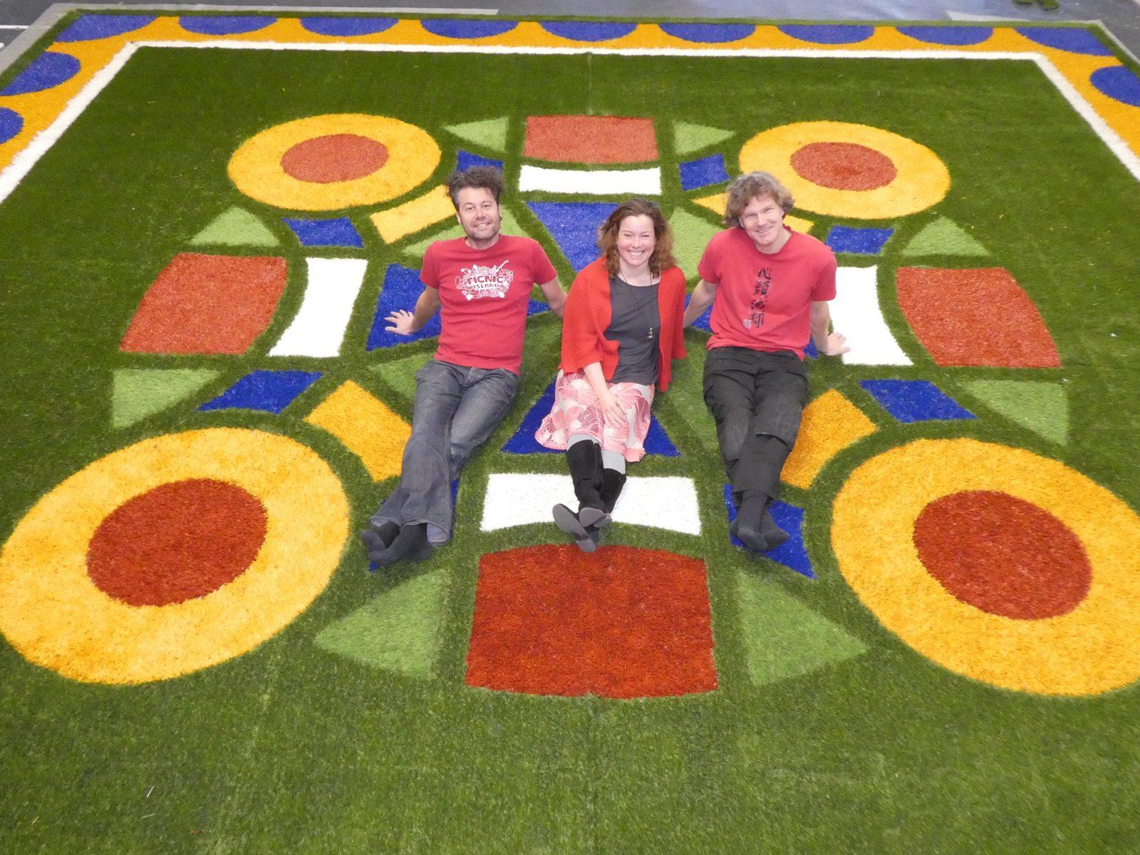 Flying Grass Carpet