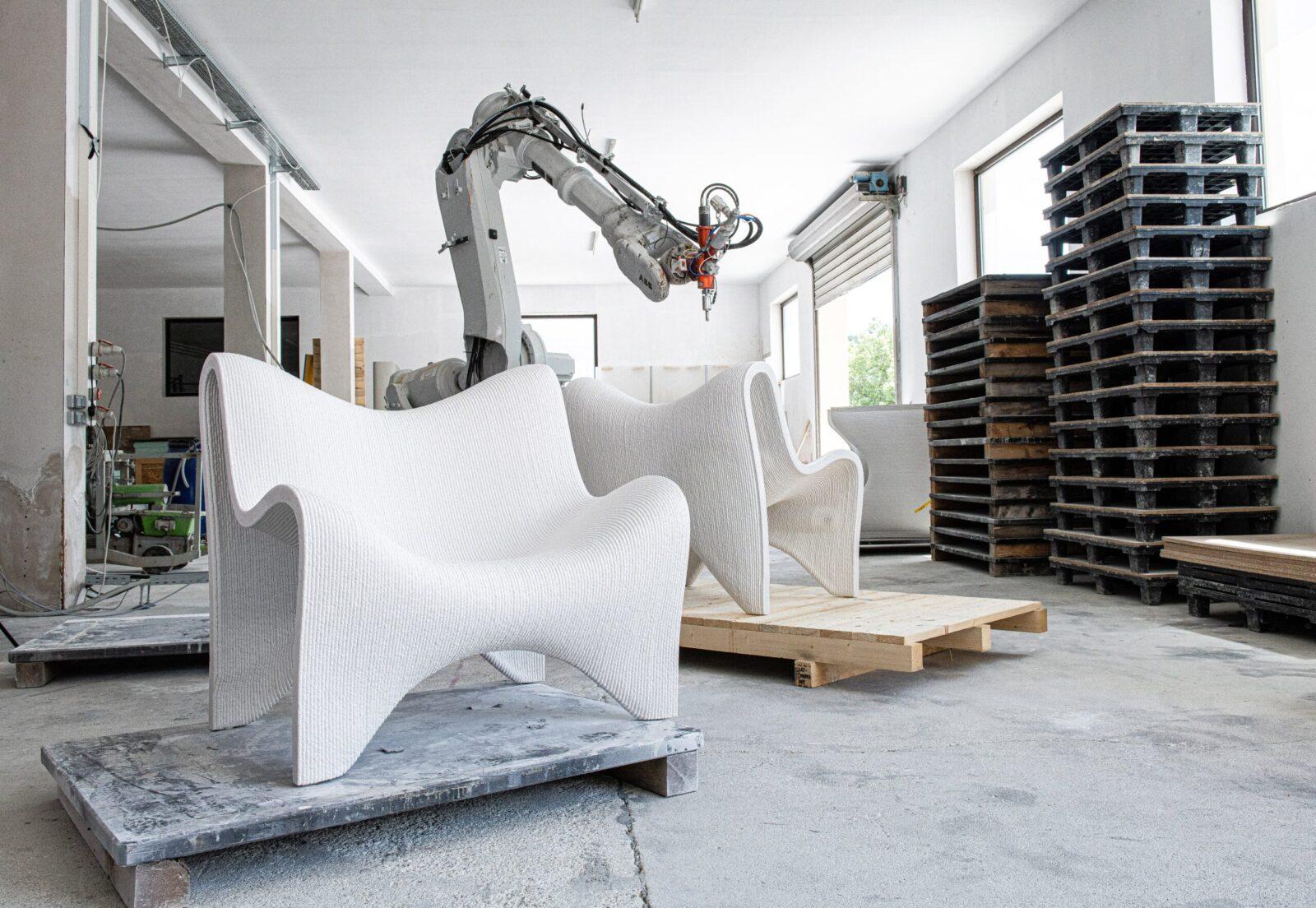 3D-printed street furniture