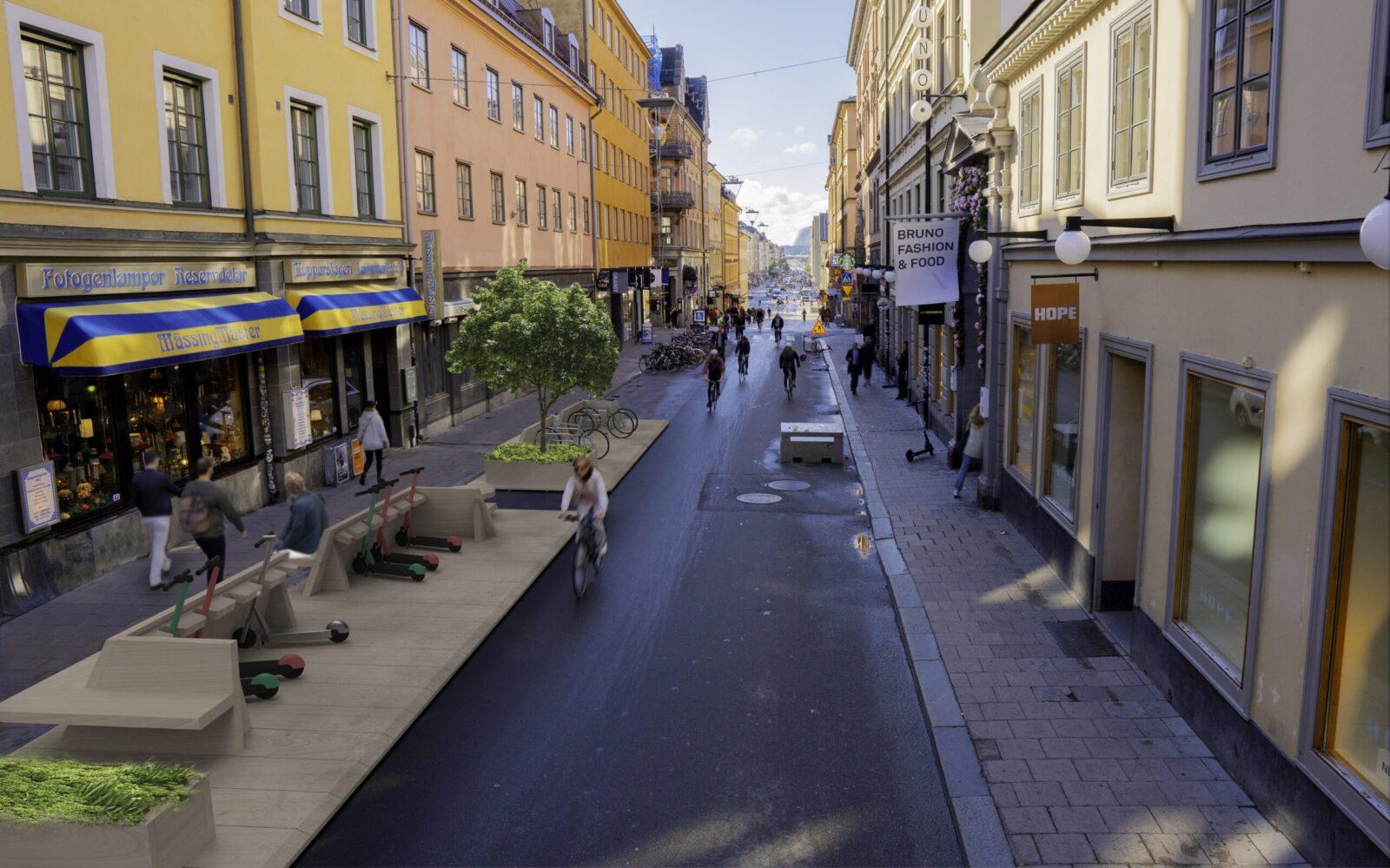 1-Minute City, Stockholm